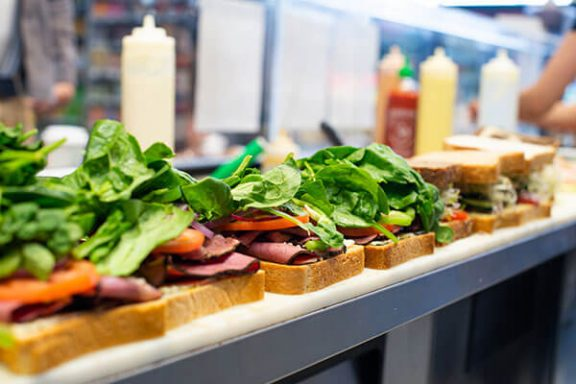 Oak Bay sandwich bar