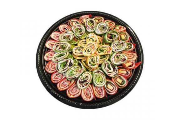 Pinwheels party tray