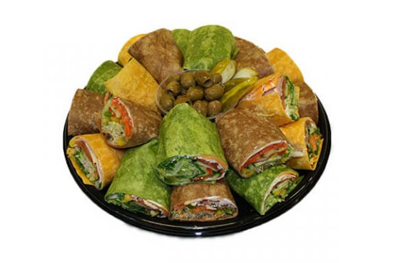 Wrap it up party tray