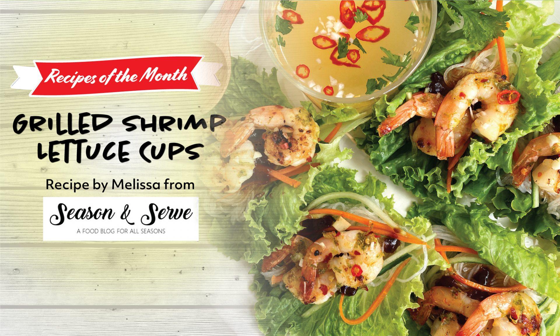 Grilled Shrimp Lettuce Cups Recipe Grilled Shrimp Lettuce Cups Recipe